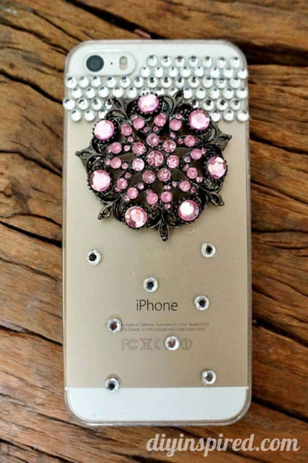 Necklace pendant phone case