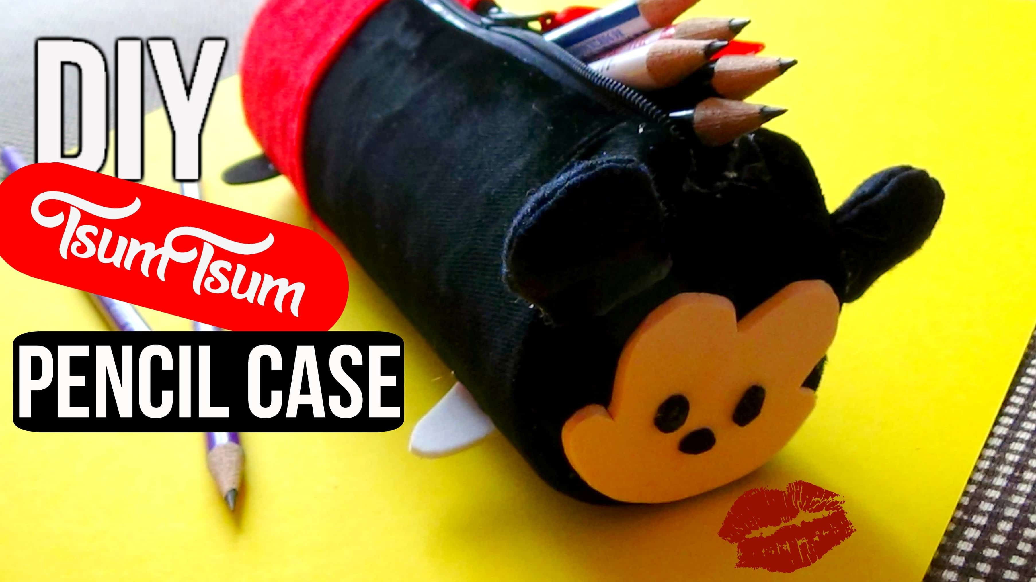 Tsum tsum mickey mouse pencil case