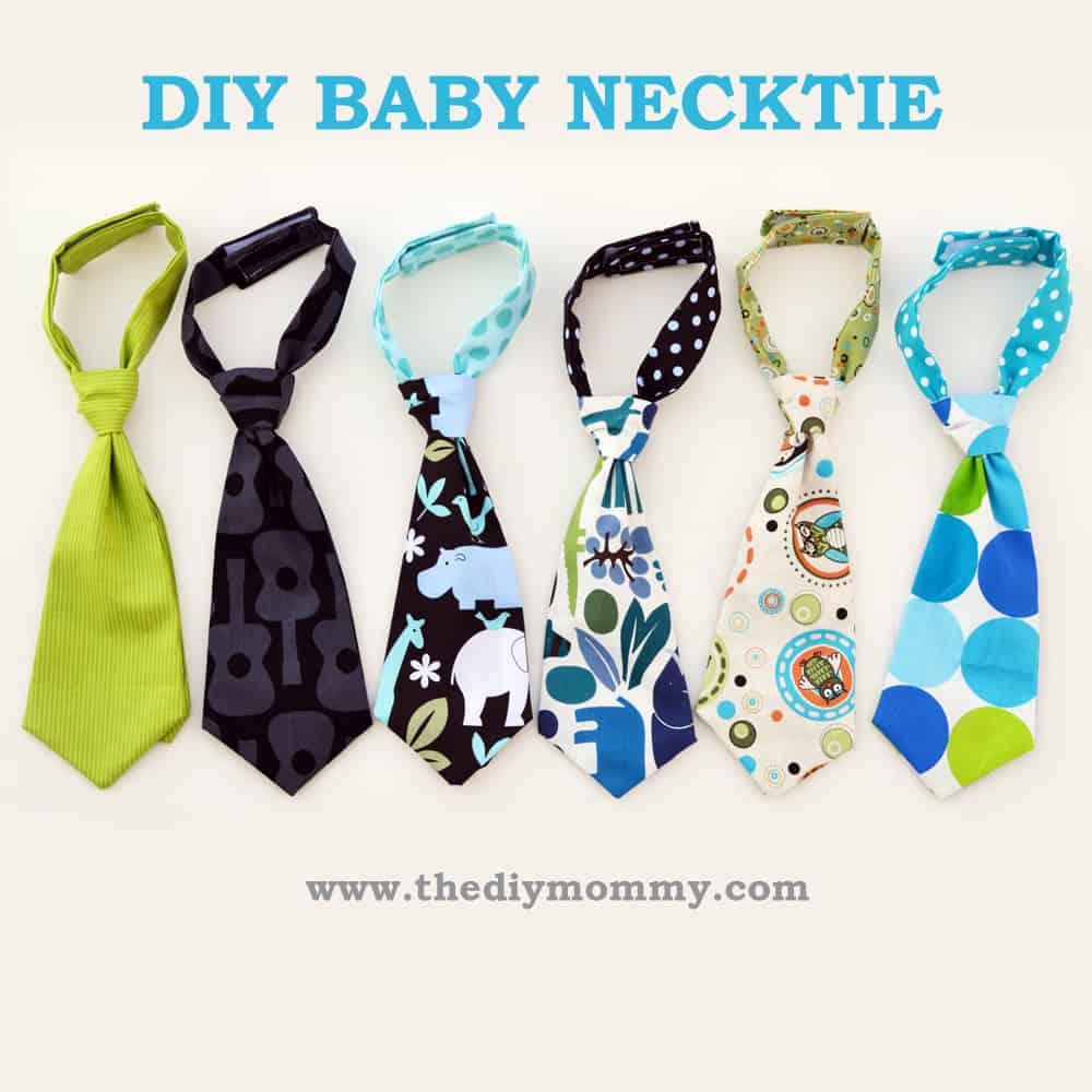 Velcro baby neckties