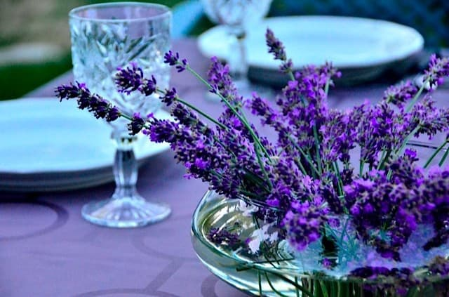 Diy lavender centerpiece