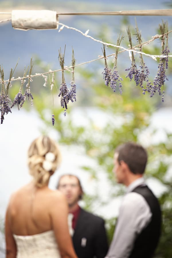 Diy lavender garland