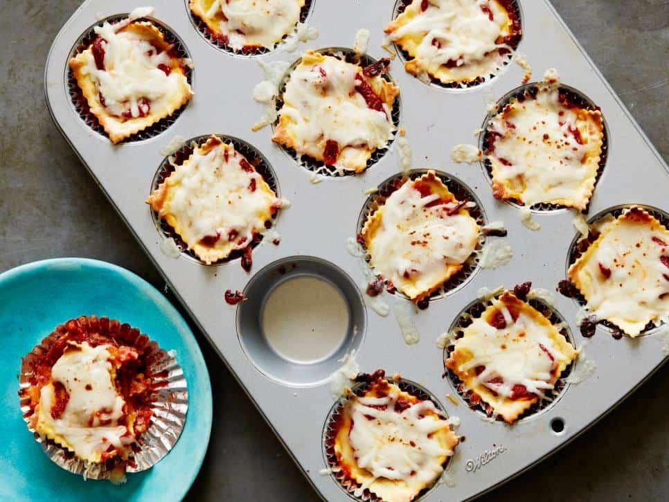 Lasagna cup recipe