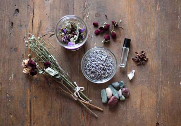 Lavender potpourri