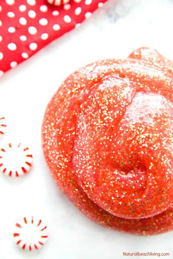 Peppermint slime recipe
