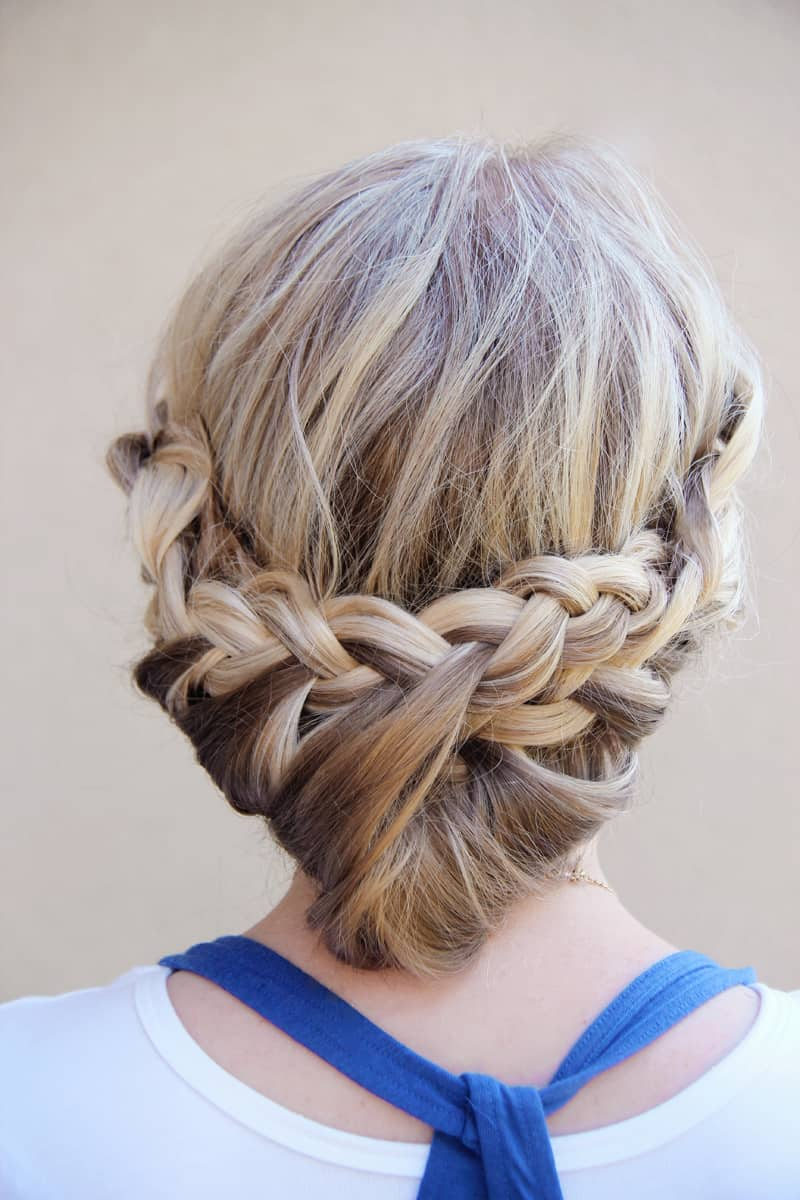 Princess braids hair tutorial