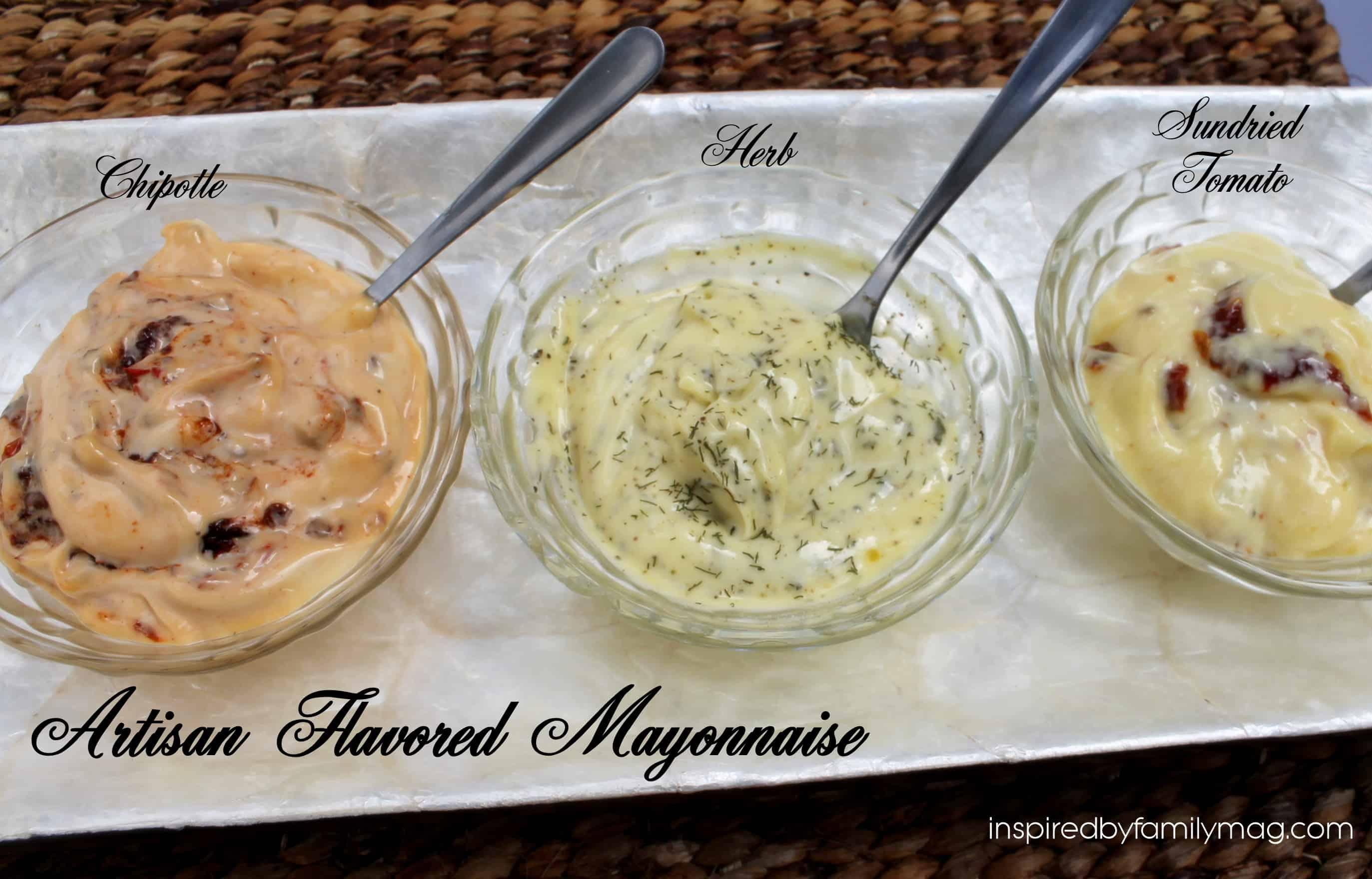 Artisan flavoured mayonnaise