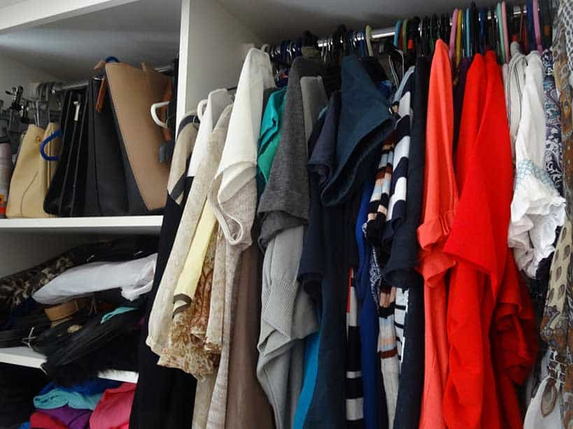 Get rid of clutter as you put things into storage