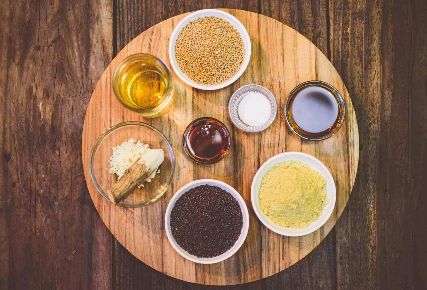 Horse radish mustard recipe