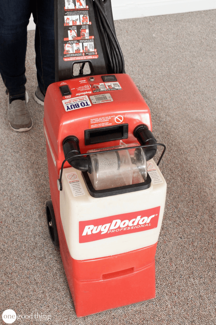 Borax for carpet cleaning