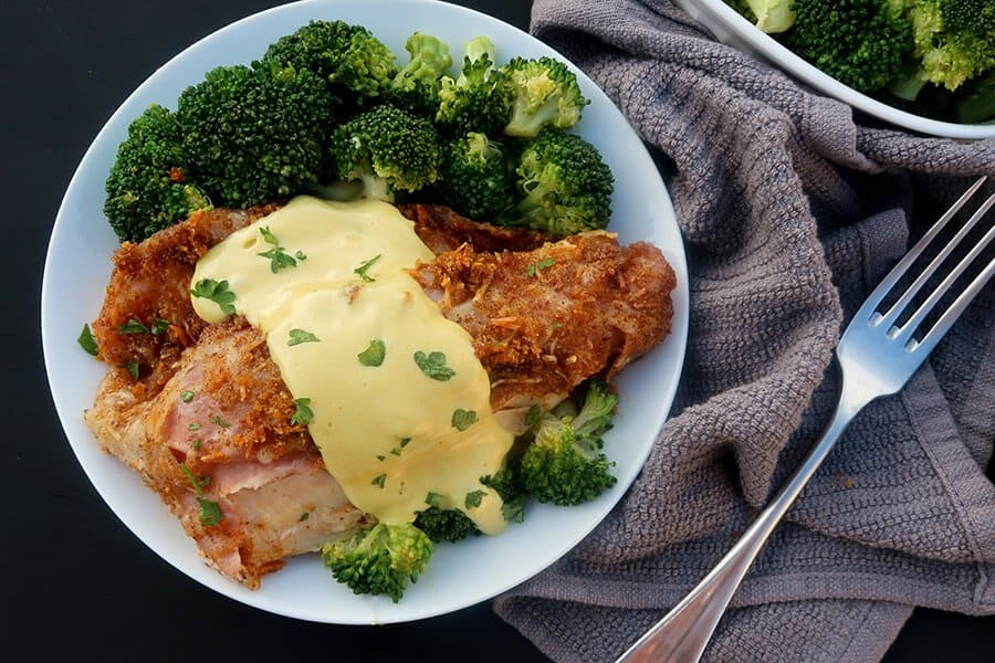 Keto cordon bleu recipe
