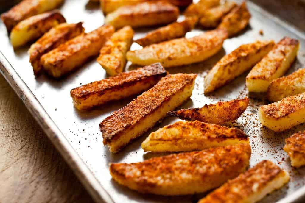 Kohlrabi home fries