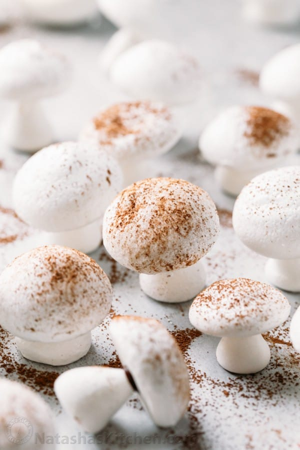 Meringue mushroom recipe