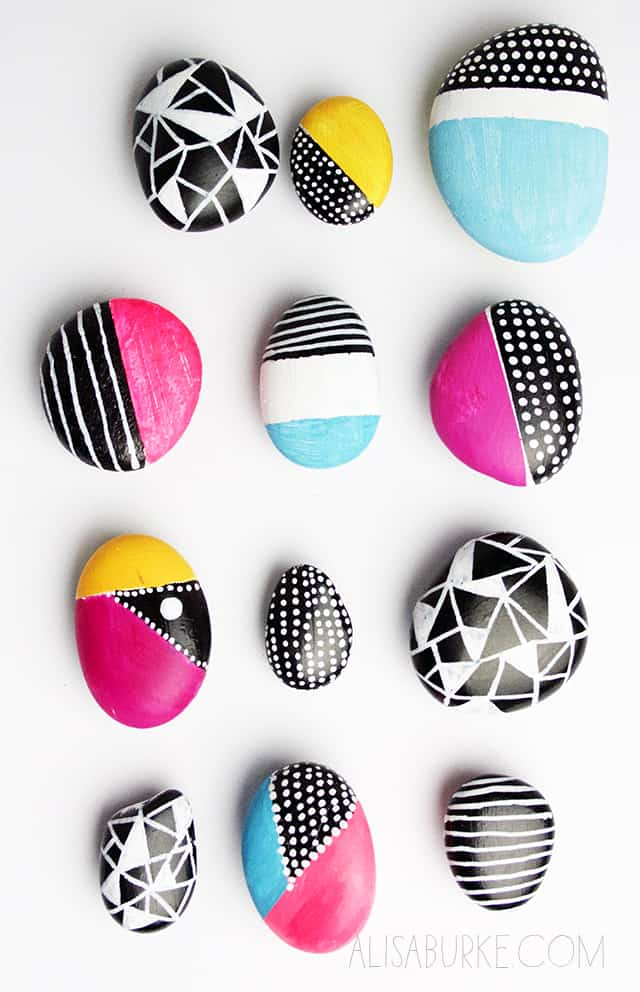Rock magnets diy