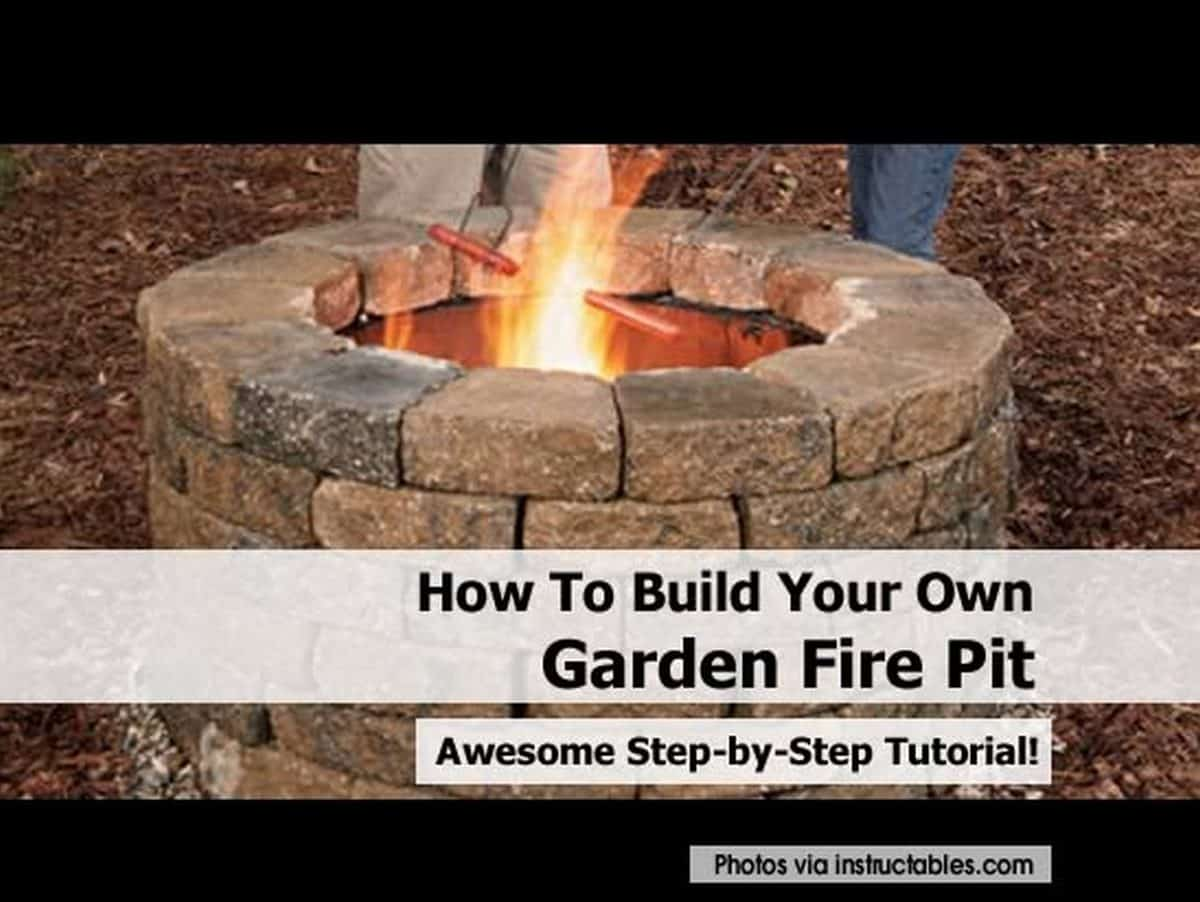 Build a garden fire pit