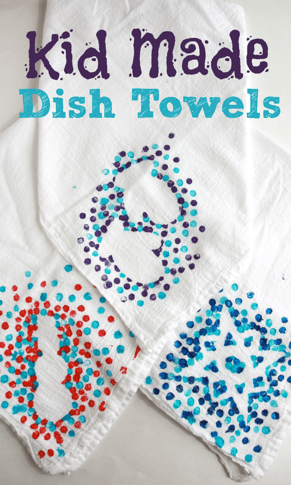 Dish towels diy