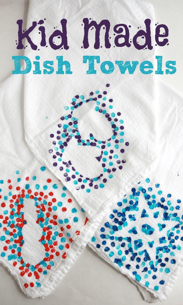 Dish towels diy