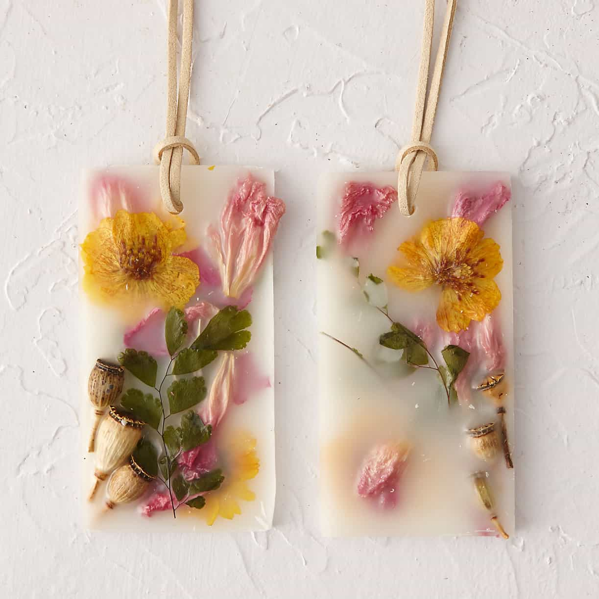 Dried flower scented sachets