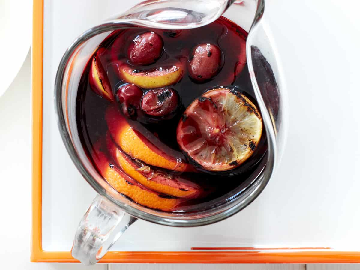 Grilled sangria
