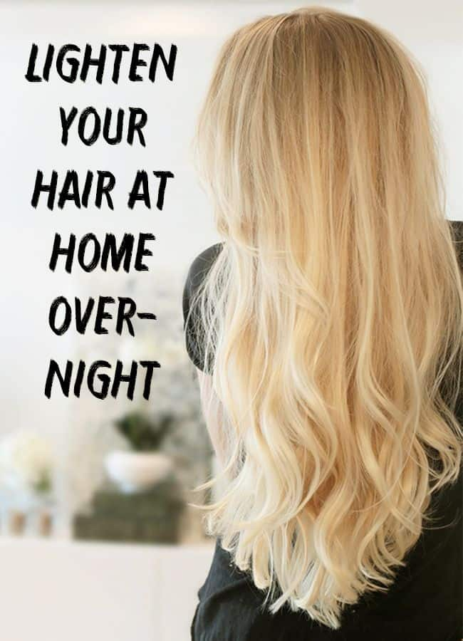 Other home hair lighteners (that smell great)
