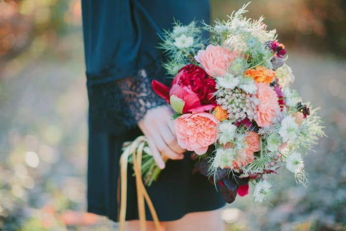 Diy boho wedding bouquet