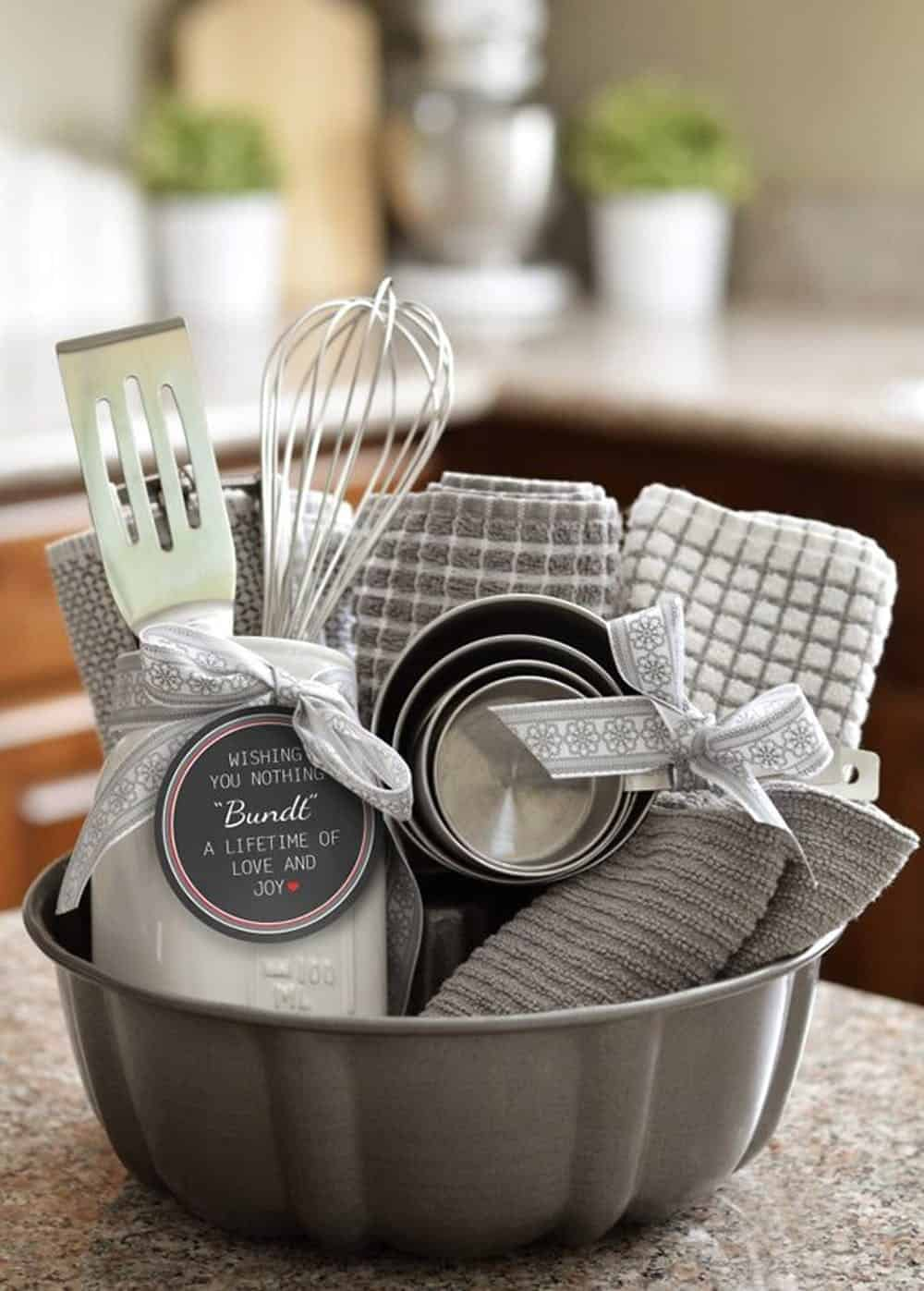 Diy bundt cake kit