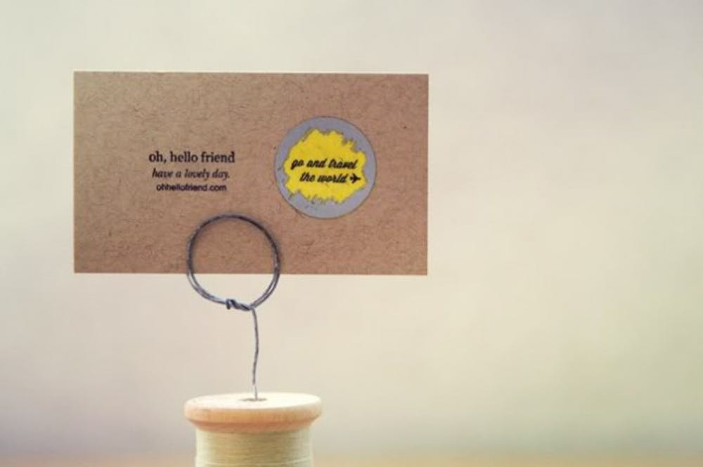 Diy scratch off business cards