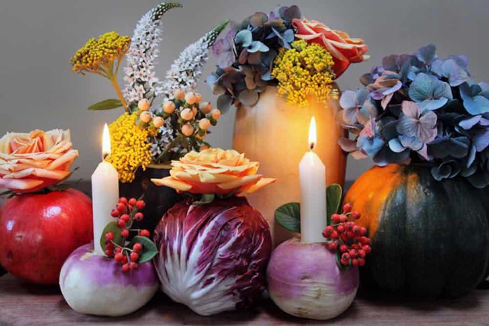 Diy vegetable vases