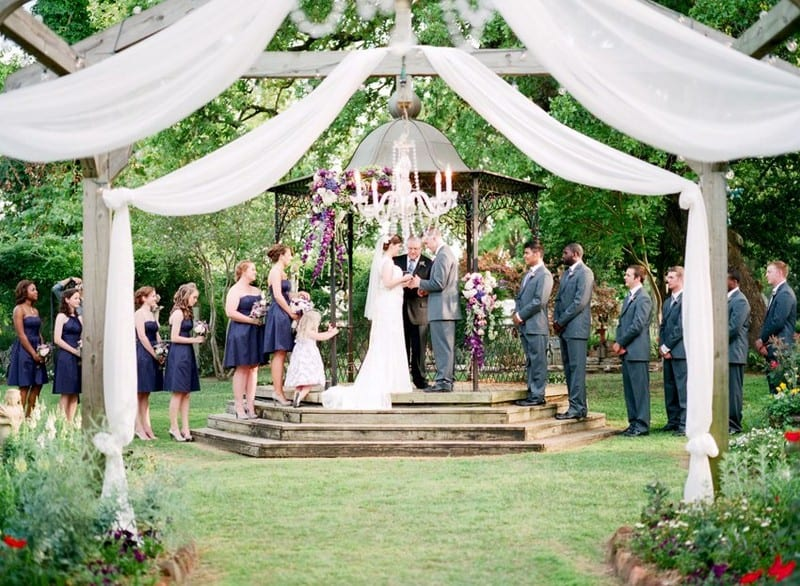 Elmwood wedding garden venue