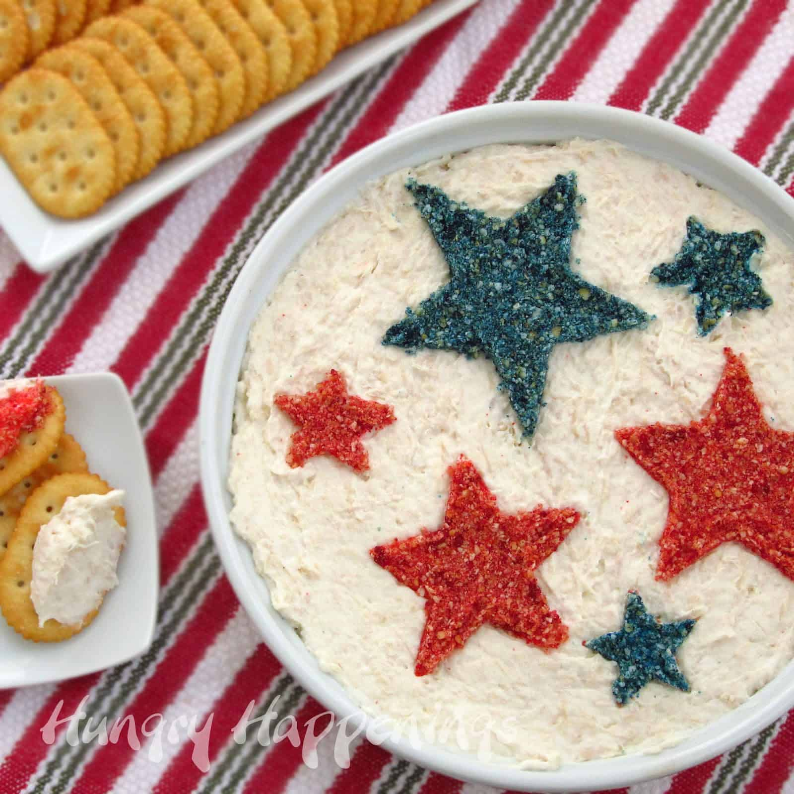 4th of july snack dip