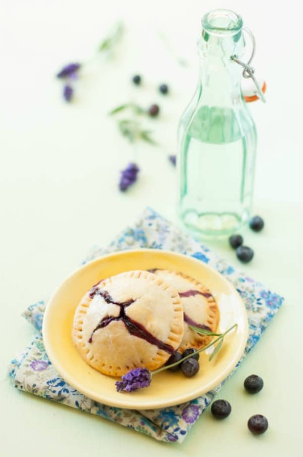 Blueberry lavander hand pies 2