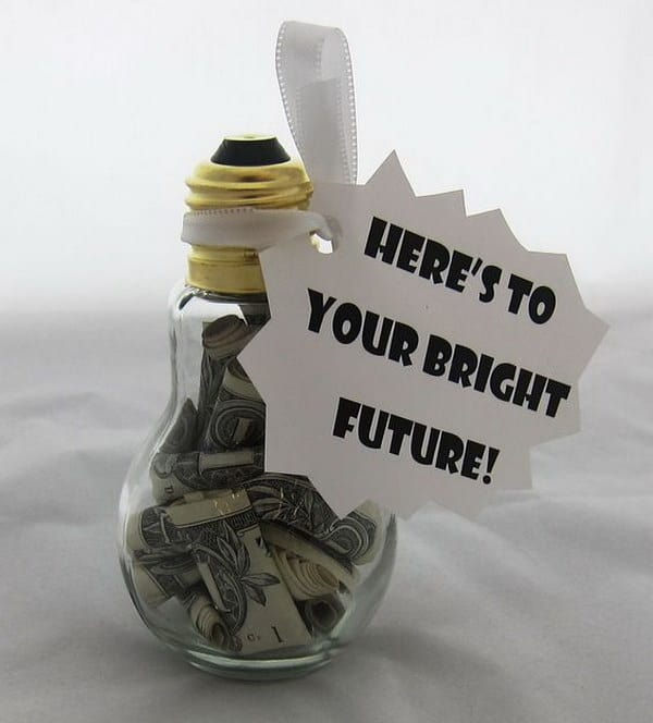 Bright future cash gift