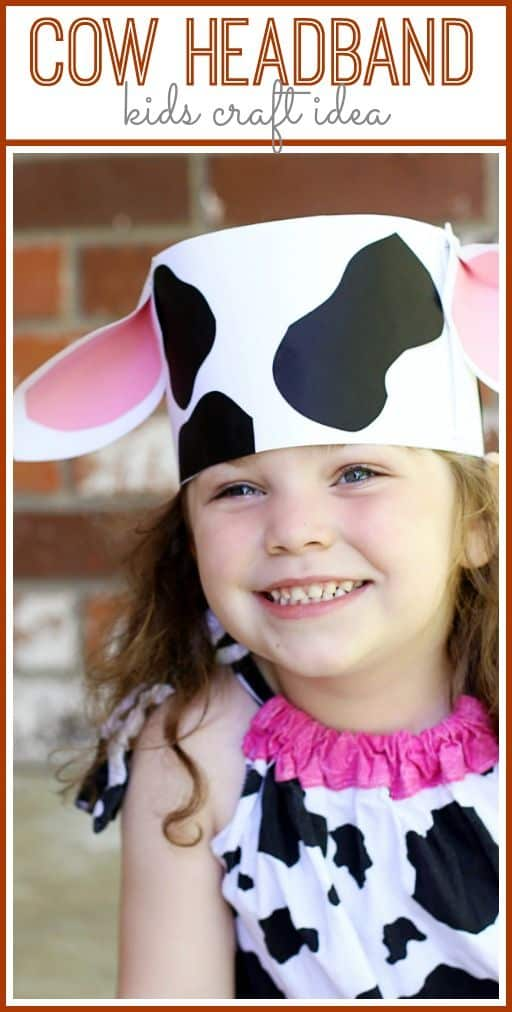 Cow ears headband