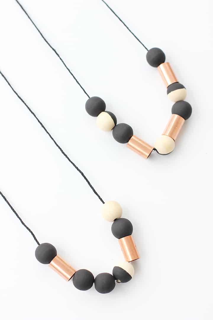 Diy cooper tube beads