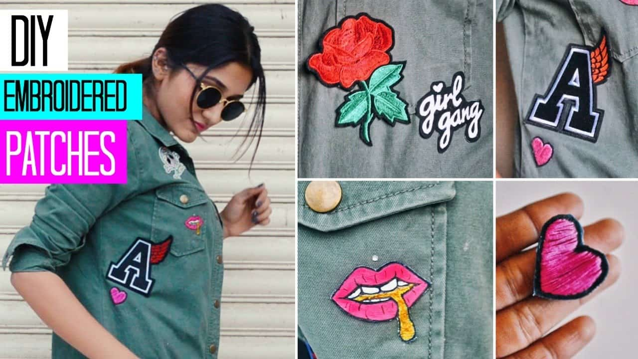 Diy embroidered patches