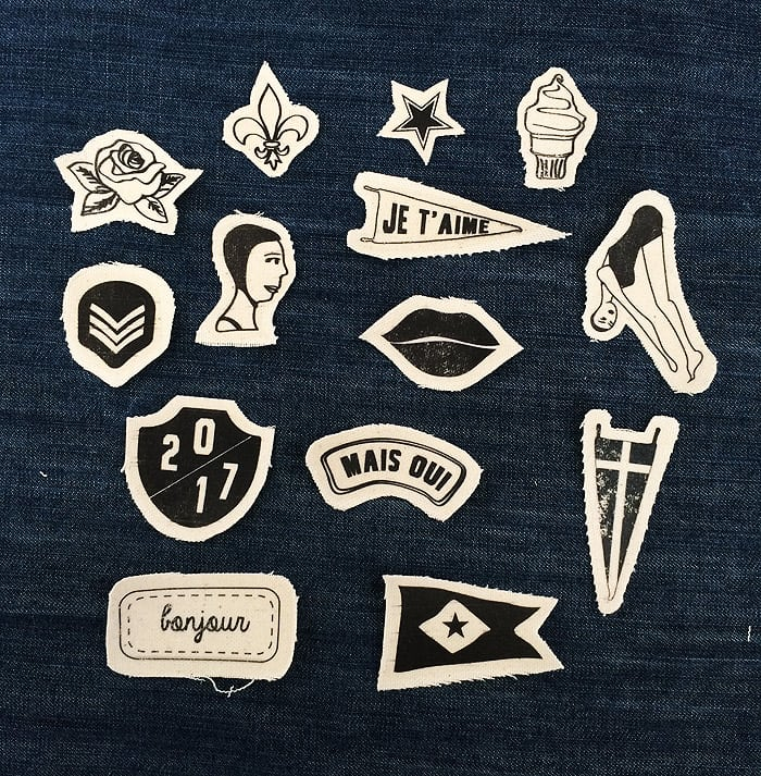 Diy printable patches