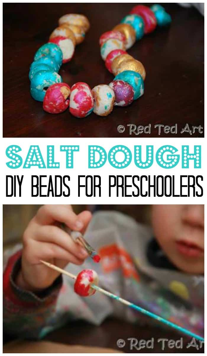 Diy salt dough beads