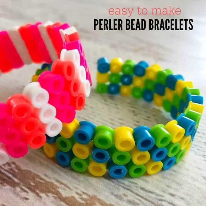 Easy perler bead bracelets