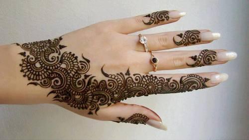 Intricate HennaHand Tattoo