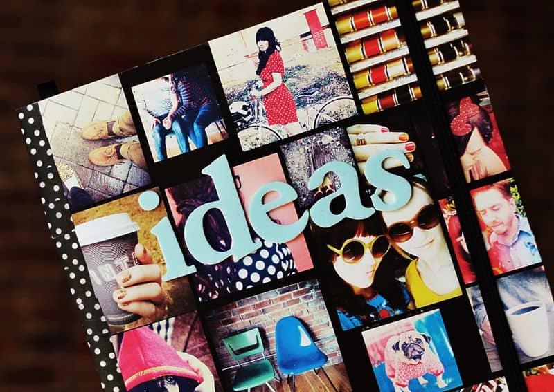 Instagram photo memories notebook
