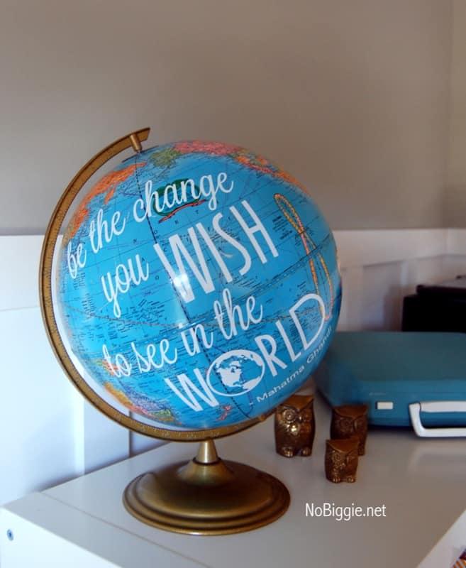 Motivational globe
