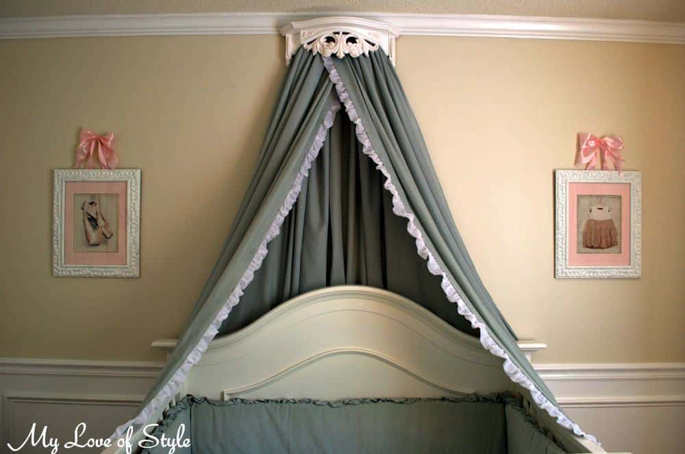 Princess style bed canopy diy