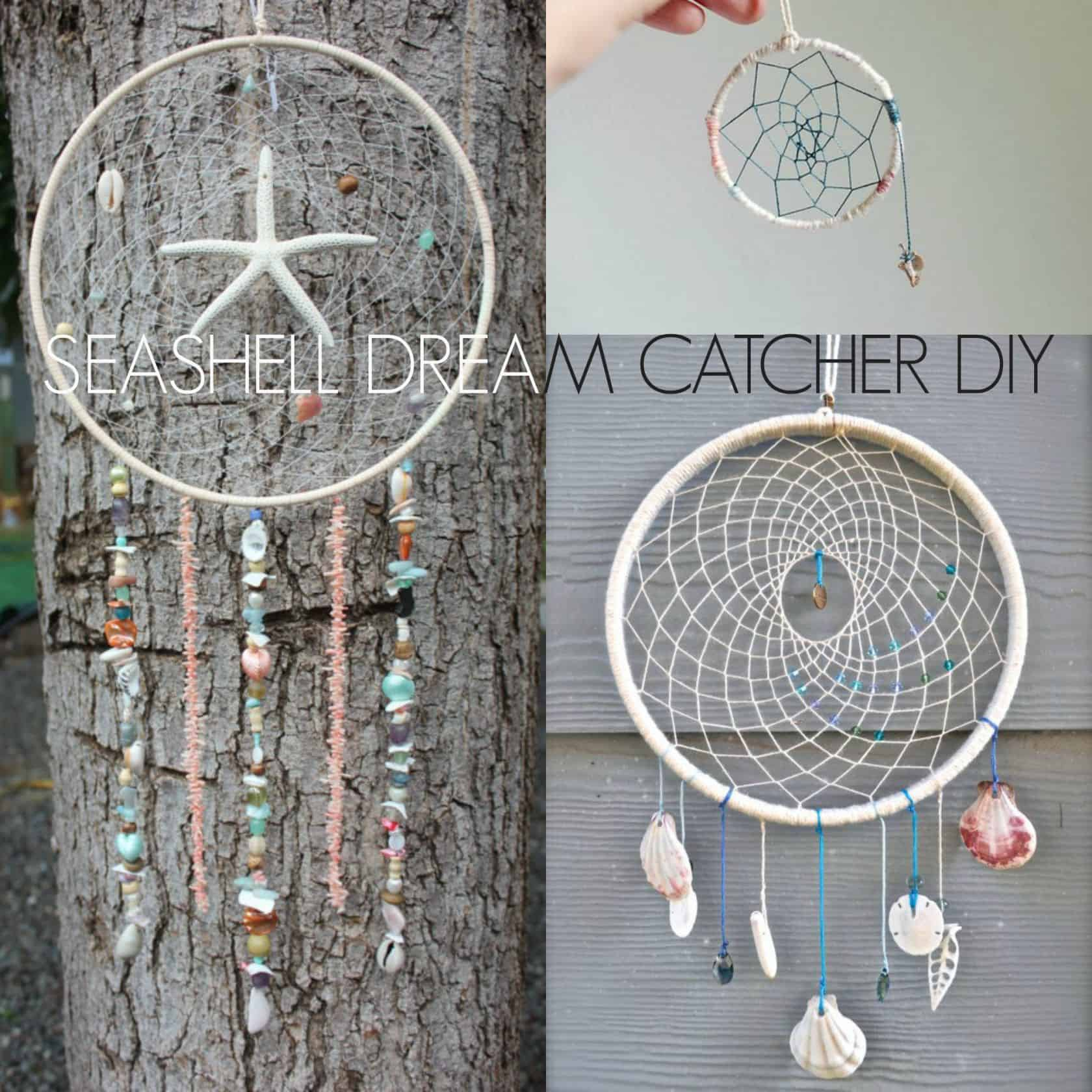 Seashell dream catcher