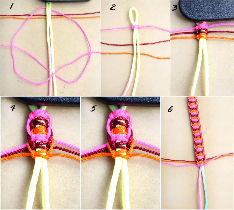 Thicker flat hemp knots