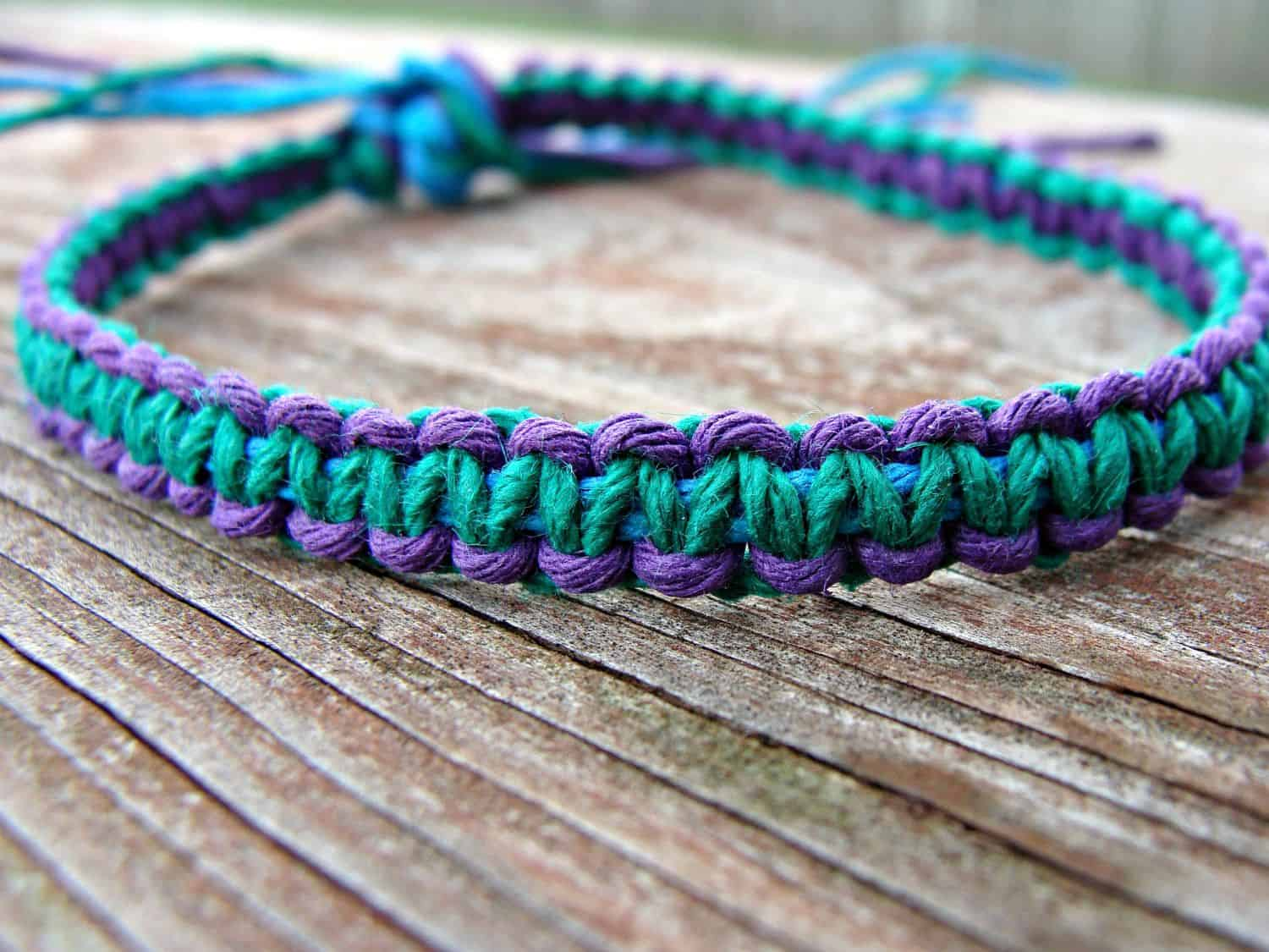 Diy Hemp Bracelets For Summer