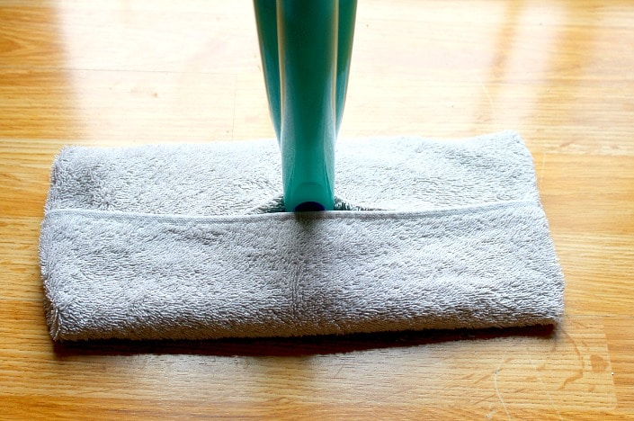 Washable swiffer mop cover