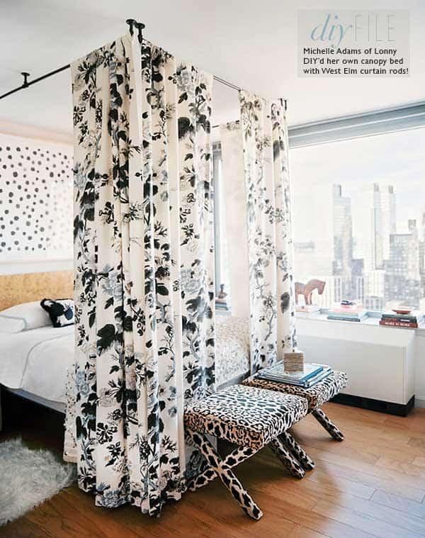 Diy curtain canopy