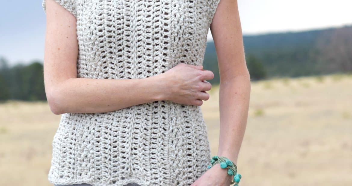 Topcho easy crochet shirt