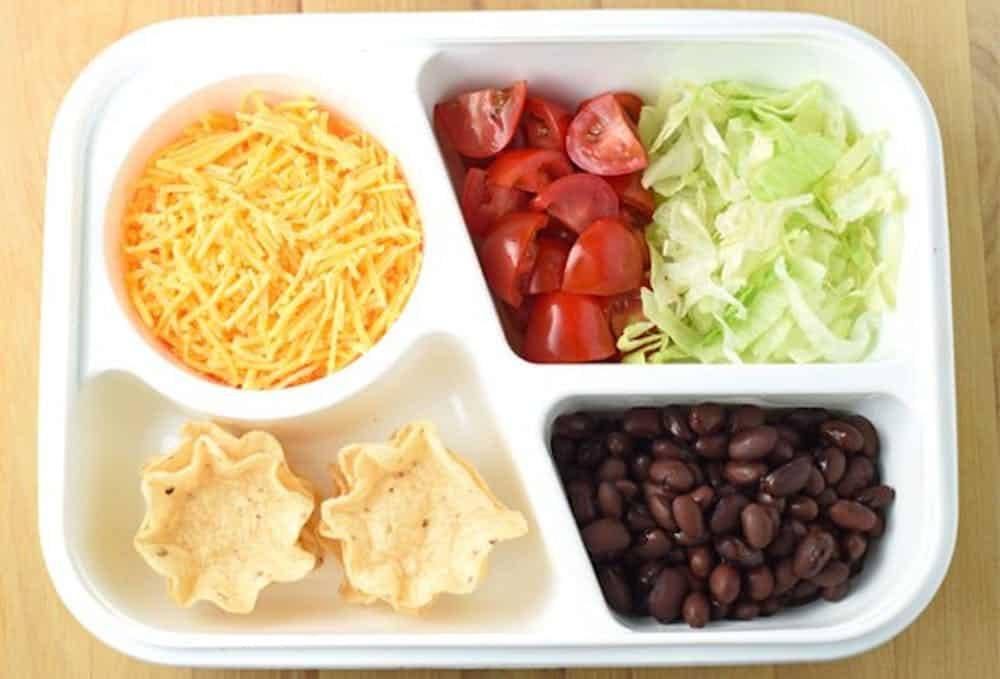 Build a taco bento box