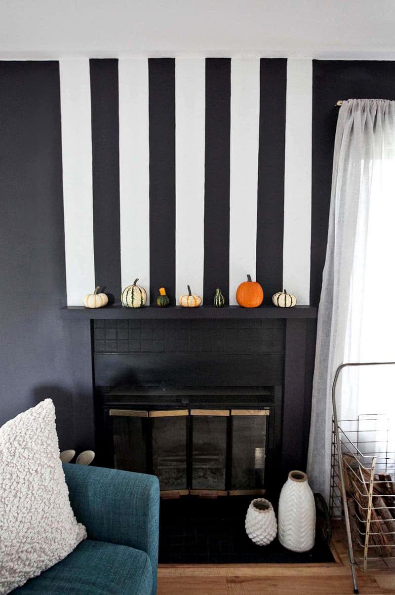 Chunky striped mantle