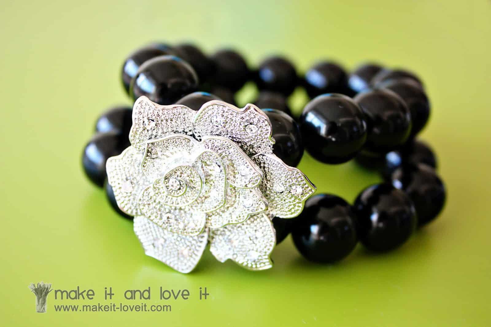 Costume earring bracelet charm